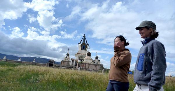 BUCKET - Amy Hessl in Mongolia