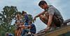 26985A0233XXB - ORIGINAL: Adventure WV students at Monongalia County Habitat for Humanity site (Aug. 2010)