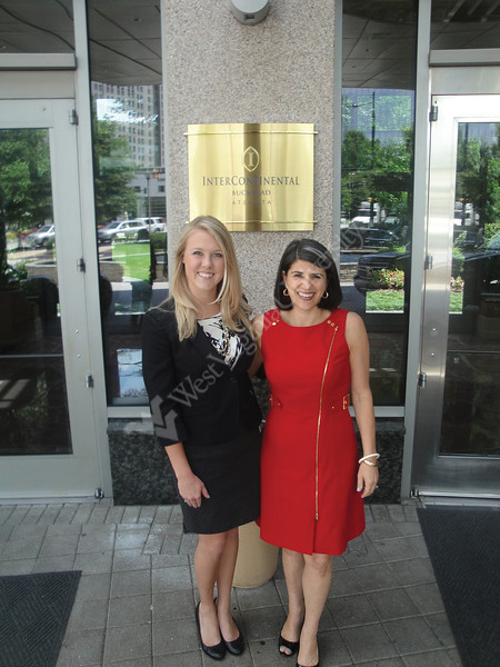 Katie Warne and Lara Hernandez - Photo submitted by College of Business and Economics for WVU home page