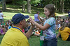 ORIGINAL: President Clements at 2011 Monongalia County 4-H Camp at Camp Muffly