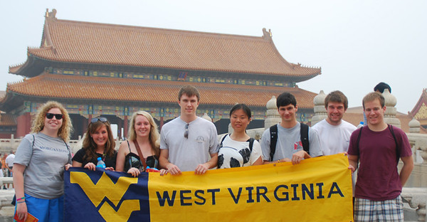 BUCKET - WVNano IRES program participants in China, summer 2011. Submitted by Hong Wang
