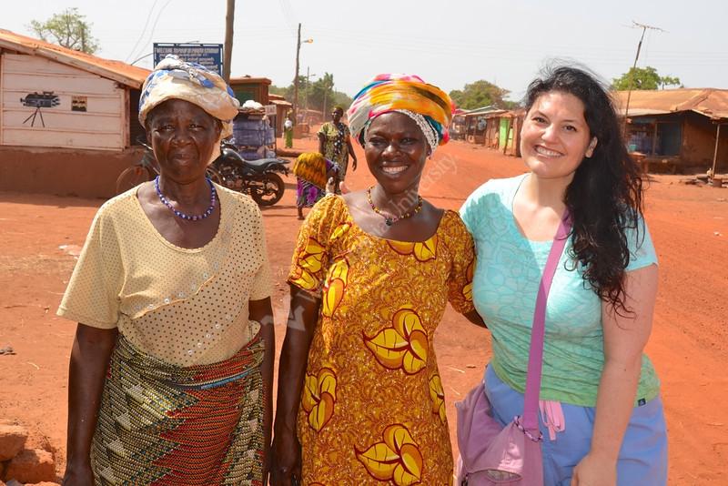 Dr. Larrabee in Ghana 2013