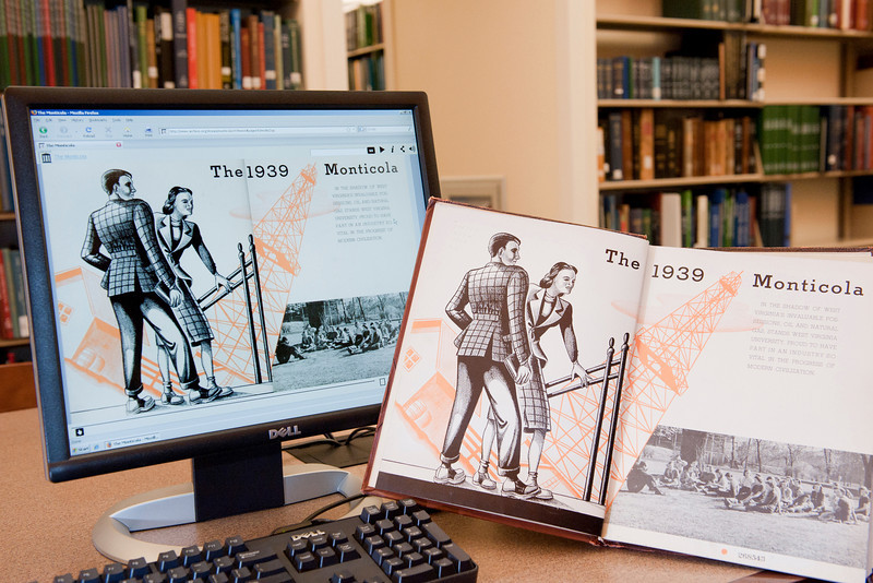 ORIGINAL: Feb. 25, 2011 - WVU Libraries is embracing technology to make its services more convenient. Digitizing materials, including the WVU yearbook and historic photographs, provides 24/7 online access worldwide. Meanwhile, patrons can use mobile phones to quickly renew books, reserve study rooms, find an available computer, or text a question to a librarian.