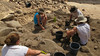 Religious Studies Israel trip: archeological dig in Bethsaida, photo by Dr. Alex Snow, religious studies faculty member