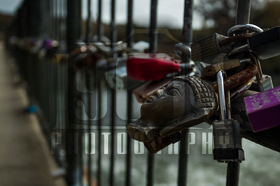 20191117 Augusta Canal Love Locks