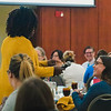 Talent and Culture hosted a Diversity Symposium for both current employees and local employers at the Erickson Alumni Center on Sept. 25, 2018. Photo by Kallie Nealis.