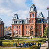 Prospective students and families visit campus for Discover WVU Day on Nov. 3, 2018. Photo by Kallie Nealis.