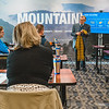 New WVU employees had a surprise visit from President Gee himself at their New Mountaineer Onboarding session on Feb. 4, 2019. Photo by Kallie Nealis.