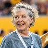 Ann Berry enjoying her time at Monday Night Lights on Aug. 19, 2019. Photo by Kallie Nealis.