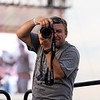 Dave Ryan snapping photos during Fall Fest on Aug. 20, 2019. Photo by Kallie Nealis.