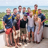 The 2018-2019 officers of Global Medical and Dental Brigades who were on the trip. Photo by Kallie Nealis, May 2019.