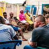 Undergraduate and graduate students of Global Medical and Dental Brigades travel to small villages in Ghana to speak with and get to know local families. Photos by chaperone, Kallie Nealis.