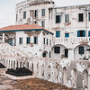 On their last day in Ghana, Global Brigades took the students to the Cape Coast Castle to educate them about the slave trade. Photo by Kallie Nealis, May 2019.