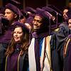 Graduates sing Country Roads to end the College of Law graduation ceremony on May 10, 2019. (Photo Chris Young)