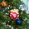 A Flying WV ornament trims a Christmas Tree on Dec. 17, 2019. Photo by Kallie Nealis.
