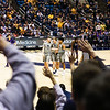 The Mountaineers defeated the TCU Horned Frogs 81-49 on January 14, 2020 at the Coliseum. Photo by Alex King