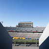 Milan Puskar Stadium sits empty prior to WVU's home game against Kansas State, Oct. 31, 2020. Photo: Corbin Mills