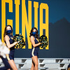 Members of the WVU Dance Team cheer on the Mountaineers during their home game vs Kansas State, Oct. 31, 2020. Photo: Corbin Mills