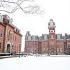 Winter Scenes on Campus. January 7, 2020.