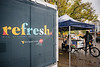 A student grabs breakfast and a drink from the refresh station across from the Mountain Lair on September 29, 2020 (Photo Chris Young).