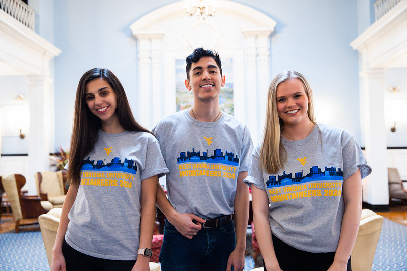 Photoshoot for the 2024 Class T Shirts taken on January 30, 2020. Photo by Alex King.