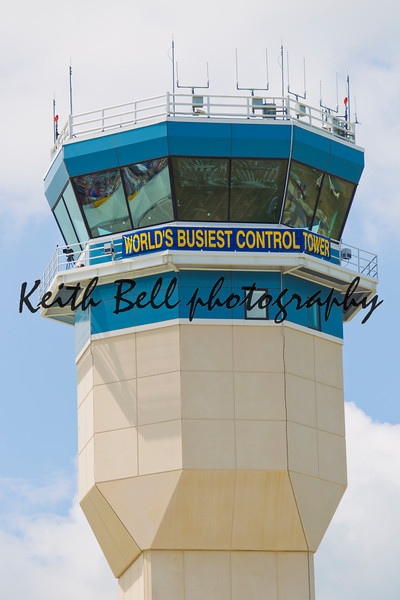OSHKOSH, WI - JULY 27: A view of the World's Busiest Control Tower at the 2012 AirVenture at EAA on July 27, 2012 in Oshkosh, Wisconsin.