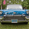 WAUPACA, WI - AUGUST 25: Front view of a 1957 Cadillac Fleetwood car at the 10th Annual Waupaca Rod & Classic Car Club Car Show on August 25, 2012 in Waupaca, Wisconsin.