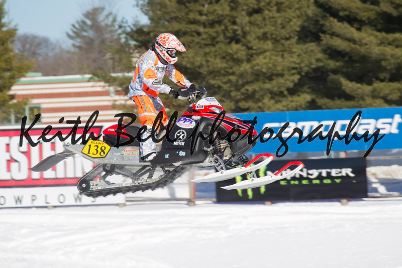 Poliaris #138 Snowmobile Flying High