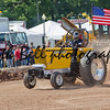 DE PERE, WI - AUGUST 18: A vintage Yellow Minneapolis Moline GVI Tractor competing at the Tractor Pull event at the Brown County Fair on August 18, 2012 in De Pere, Wisconsin.