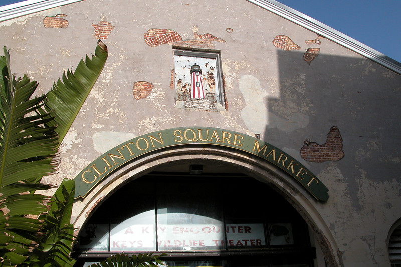 Entrance to Clinton Square Market - Key West, FL