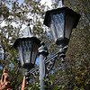 Lamp post at The Haunted Mansion