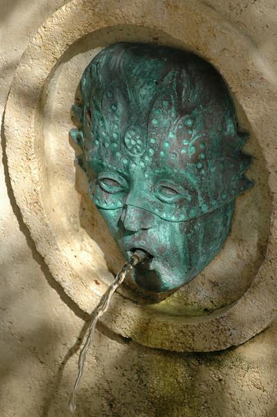 Fountain detail - Orlando, FL