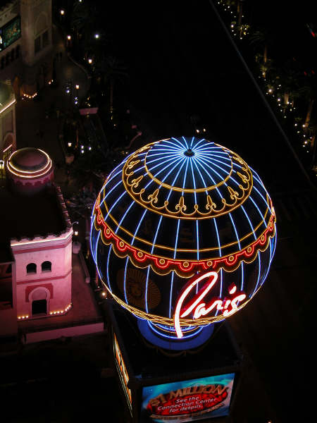 Balloon at The Paris Hotel & Casino Las Vegas