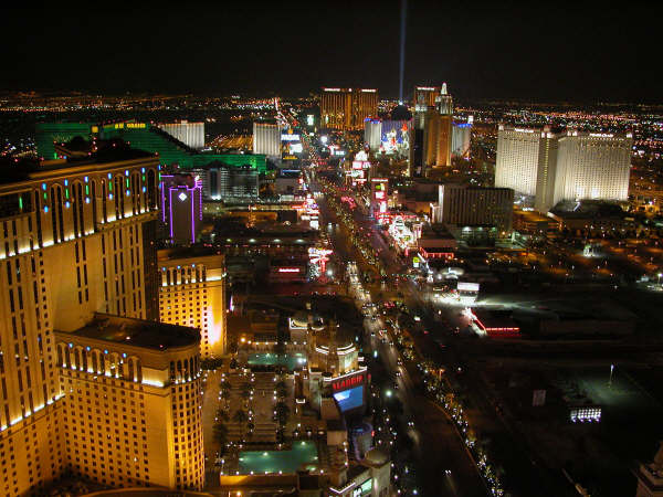 Vegas Strip from tower 2