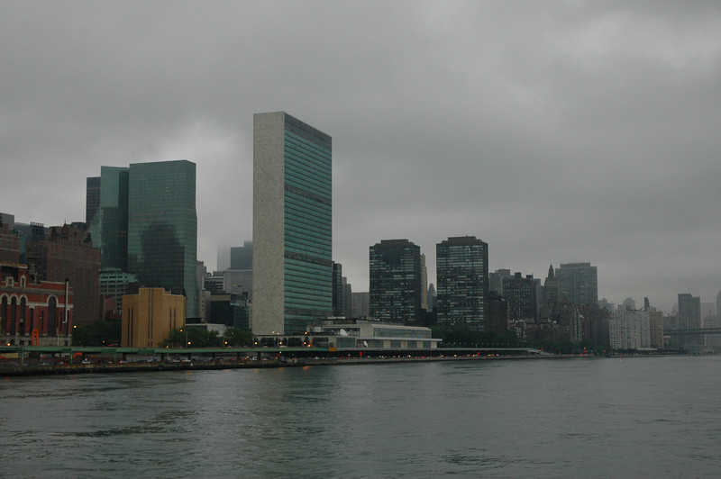 Lower Manhattan from the East River