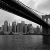 Lower Manhattan Under The Brooklyn Bridge