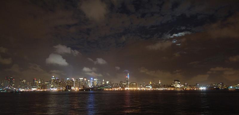 NYC Skyline night