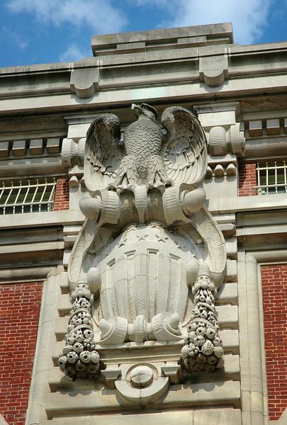 Building Detail Ellis Island<br /> New York