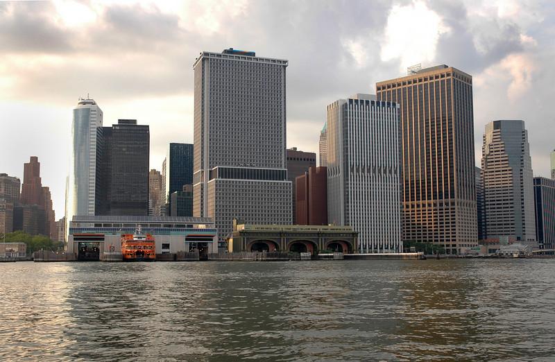 Lower Manhattan _Ferry Terminal