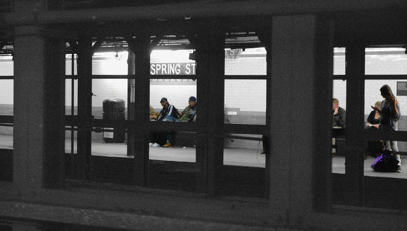Spring Street Station<br /> New York City 2009