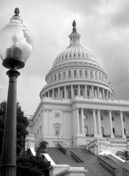 Capitol Building BW