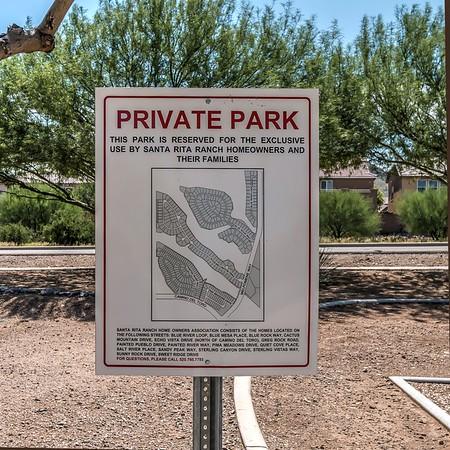 Santa Rita Ranch HOA Park