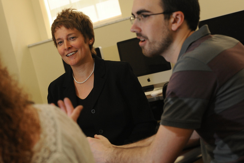 ORIGINAL - Dr. Catherine Gouge, English professor and winner of a WVU Outstanding Teacher award