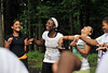 26940a0037x - ORIGINAL: July 16, 2010 &mdash Incoming  freshmen in the STARS (Students Achieving and Reaching for Success)  program play a team-building game at the WVU Challenge Course. A  five-week academic and social program, STARS develops leadership  potential, introduces resources available to minority students, and  creates a supportive community for new African American students.