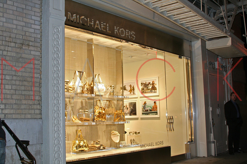 New York, NY - December 11:  Exterior of Michael Kors on Tuesday, December 11, 2007 in New York, NY.  (Photo by Steve Mack/S.D. Mack Pictures)