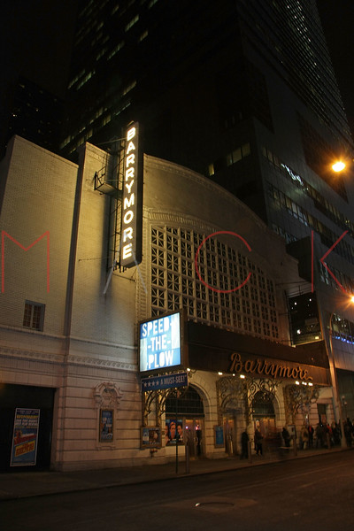 New York, NY - January 13:  Exterior of Ethel Barrymore Theatre on Tuesday, January 13, 2009 in New York, NY.  (Photo by Steve Mack/S.D. Mack Pictures)