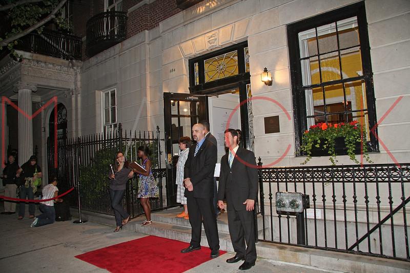 New York, NY - September 21:  Exterior of Queen Sofia Spanish Institute on Sunday, September 21, 2008 in New York, NY.  (Photo by Steve Mack/S.D. Mack Pictures)