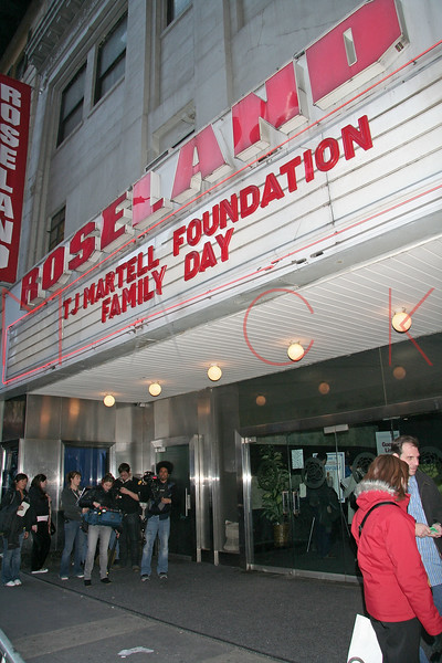 New York, NY - March 03:  Exterior of Roseland Ballroom on Monday, March 3, 2008 in New York, NY.  (Photo by Steve Mack/S.D. Mack Pictures)