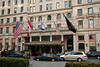 New York, NY - April 30:  Exterior of The Plaza Hotel on Wednesday, April 30, 2008 in New York, NY.  (Photo by Steve Mack/S.D. Mack Pictures)