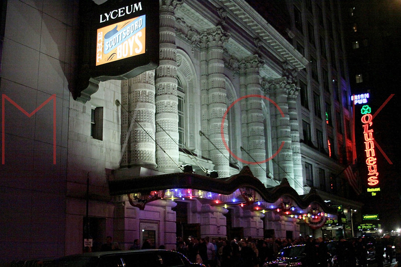 New York, NY - October 31:  Exterior of The Lyceum Theatre on Sunday, October 31, 2010 in New York, NY.  (Photo by Steve Mack/S.D. Mack Pictures)
